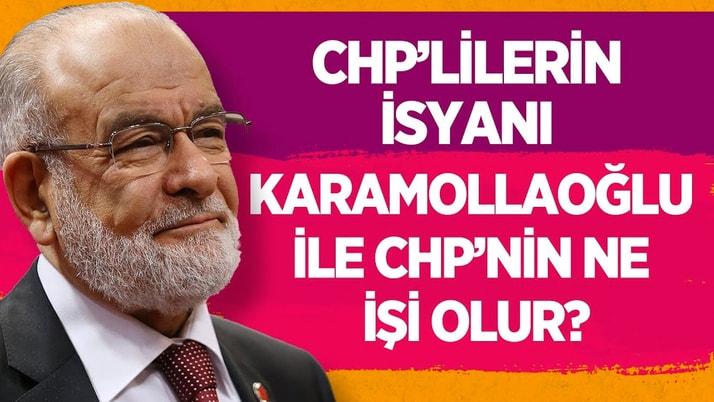 CHP'lilerin isyanı: Karamollaoğlu ile CHP'nin ne işi olur?