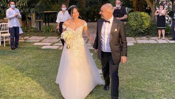 İsmail Saymaz evlendi işte eşi Şeyda Sayar ile ilk dansı