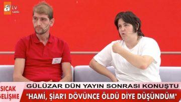 Müge Anlı Tatlı Sert'te Şiar itirafı! Gülüzar açıkladı Hami dövdü öldü sandık