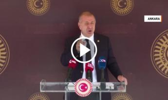 İYİ Parti İstanbul Milletvekili Ümit Özdağ basın toplantısı düzenledi