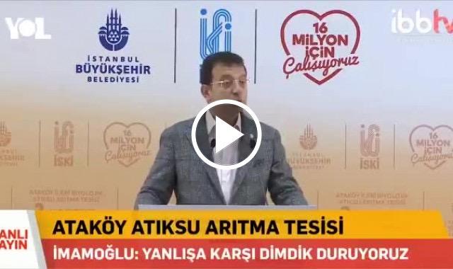 Ekrem İmamoğlu'ndan çok net Koronavirüs uyarısı: İstanbul'u kapatın!