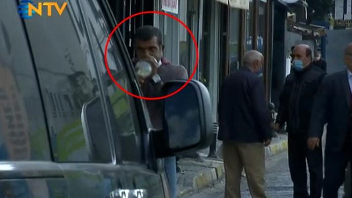 NTV'de canlı yayında şok eden görüntü! TV tarihine geçecek