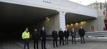 Başkan Ramazan Şimşek, 26 Aralık'ta Açılacak Olan Konya Yolu Alt Geçidini İnceledi