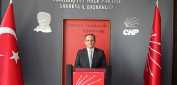 """CHP Sakarya İl Başkanı Ecevit Keleş: """"Ne Mutlu Türk'üm Diyene"""""""