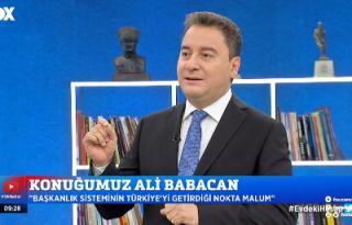 Ali Babacan Aşılama adil ve şeffaf yapılmalı