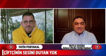 Fatih Portakal Çiftçinin Sesini Duyan Yok