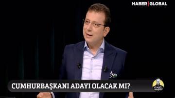 Ekrem İmamoğlu 'Cumhurbaşkanı adayı olacak mı?' sorusuna bakın ne yanıt verdi