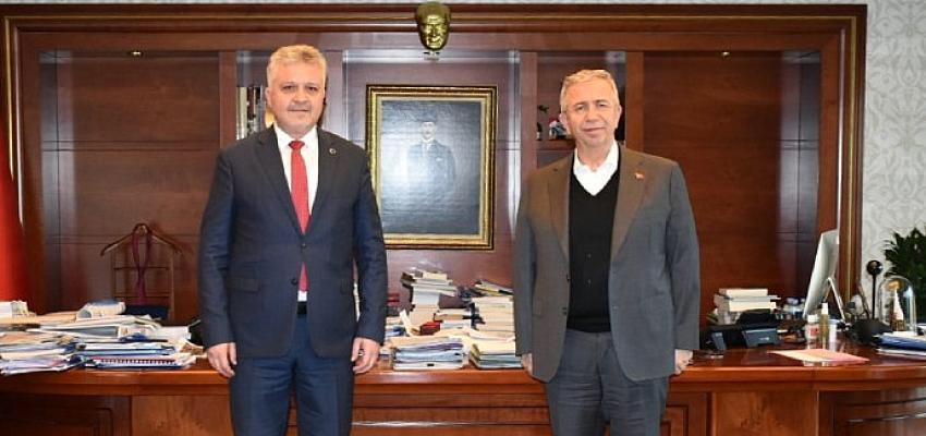 Murat Gerenli Mansur Yavaş Görüşmesi
