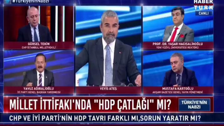 İYİ Partili Yavuz Ağıralioğlu: HDP fezleke Oylaması Millet İttifakını Bozmaz