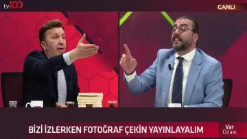 TV100'de canlı yayın karıştı hakaretler havada uçuştu: Anana avradına…