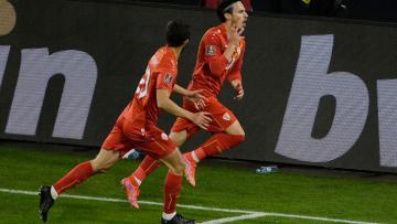 Makedonya, Almanya'yı Eljif Elmas'ın golüyle yıktı! 2001'den sonra bir ilk