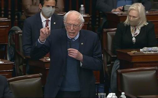 ABD'li Senatör Sanders'tan kongrede tokat gibi Filistin sorusu