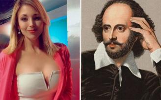 Shakespeare'leri karıştıran Noelia Novillo sosyal medyanın diline düştü