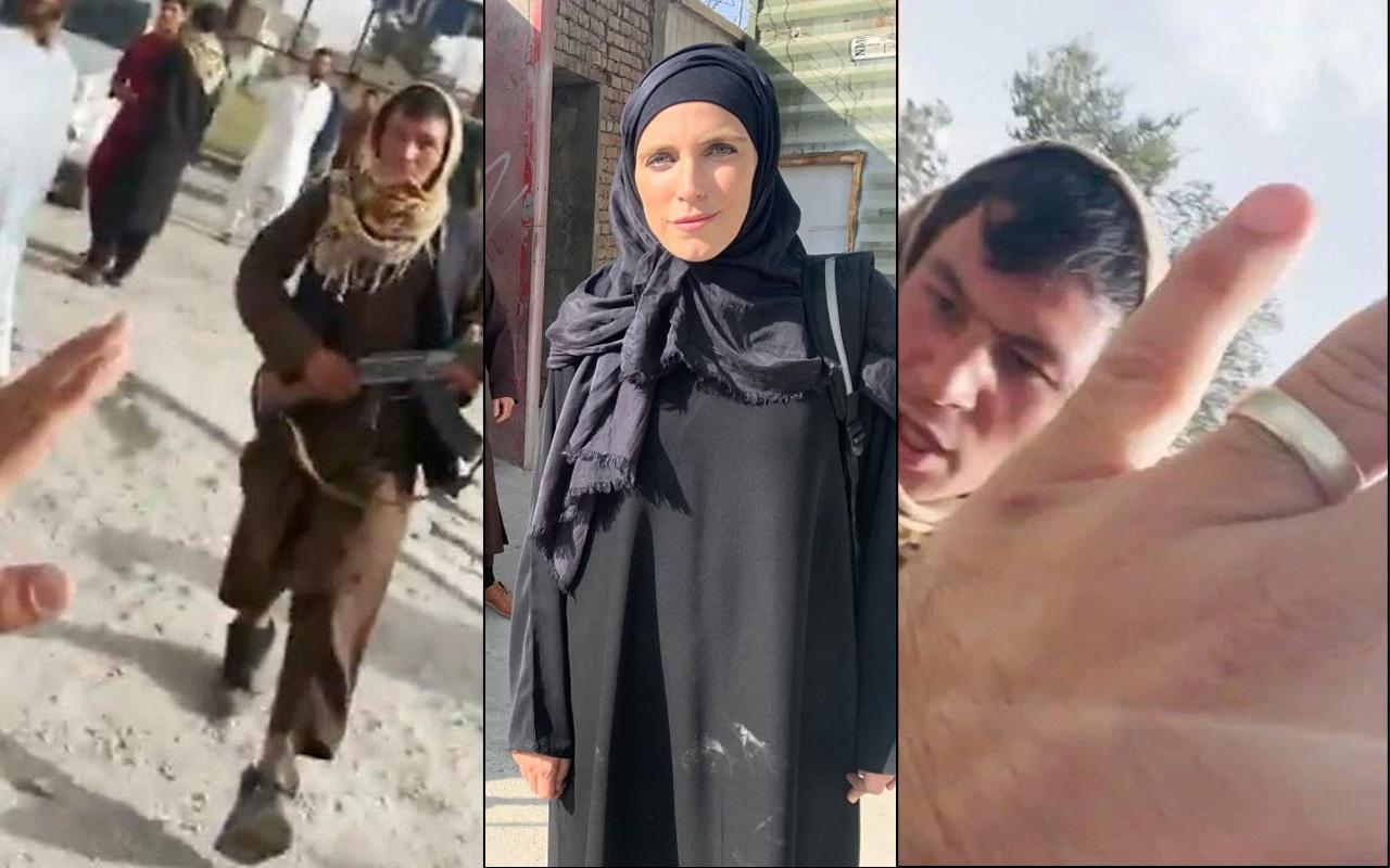 Taliban CNN ekibine canlı yayında dehşeti yaşattı! 'Çok üzücü' deyip anlattı: Kırbaçla…