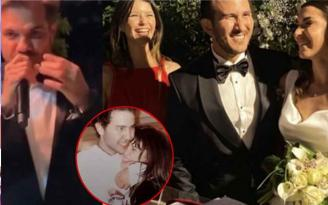 Beren Saat ilk aşkı Efe Güray'ın kardeşinin düğününde… Kenan Doğulu şarkı söyledi